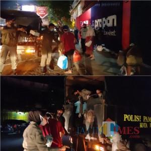 18 Anjal dan Gepeng Terjaring Razia Satpol PP Kota Malang