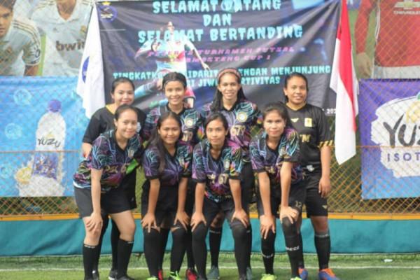 Tim Permasteng Unikama yang jadi juara satu turnamen futsal (Ist)