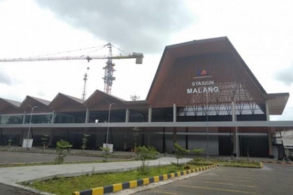 Stasiun Malang Baru sisi timur. (Foto: Istimewa).