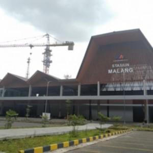 Uji Coba Hari Ini, Stasiun Malang Baru Sisi Timur Khusus Penumpang KA Jarak Jauh