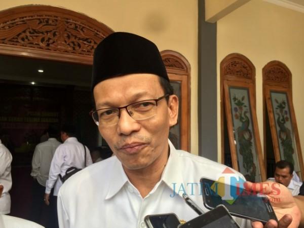 Kepala Kemenag Kota Batu Nawawi. (Foto: Irsya Richa/MalangTIMES)
