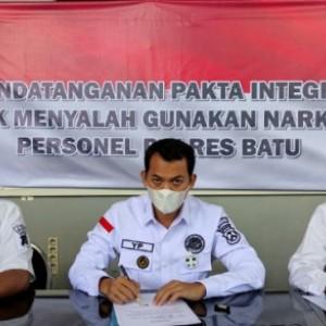 Satreskoba Polres Batu: Petugas Memakai Narkoba, Ancamanya Pecat Tidak Hormat
