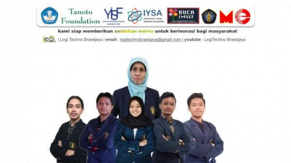 Tim Legi Techno yang terdiri dari mahasiswa FT UB (Ist.)