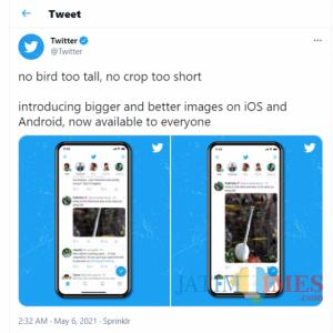 Update Foto Twitter Kini Tanpa Terpotong, Meme 'Open For Surprise' Sudah Tak Berlaku Lagi