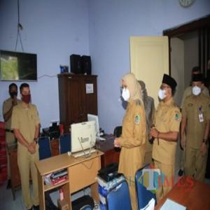 Ngantor Perdana Pasca Libur Lebaran Bupati-Wakil Bupati Banyuwangi Silaturahmi ke Beberapa OPD