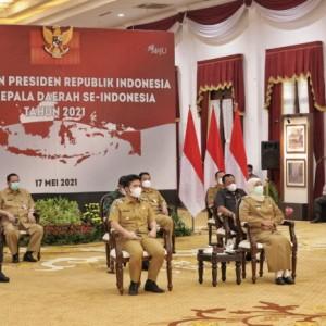 Lewat Zoom Meeting, Presiden Umumkan Kenaikan Covid-19 di 15 Daerah Meski ada Larangan Mudik