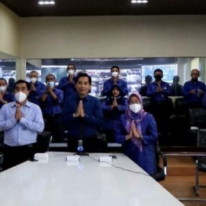 Perumda Air Minum Tugu Tirta Kota Malang Gelar Halal Bihalal Virtual