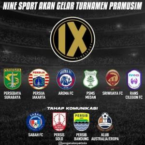 Nine Sport Gelar Turnamen Pra-musim, Arema FC Siap Tempur