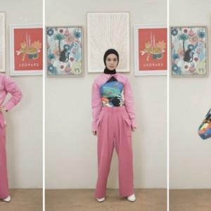 3 Tips Buat Scarf Bermotif Jadi Item Fashion Menarik ala Influencer Tantri Namirah