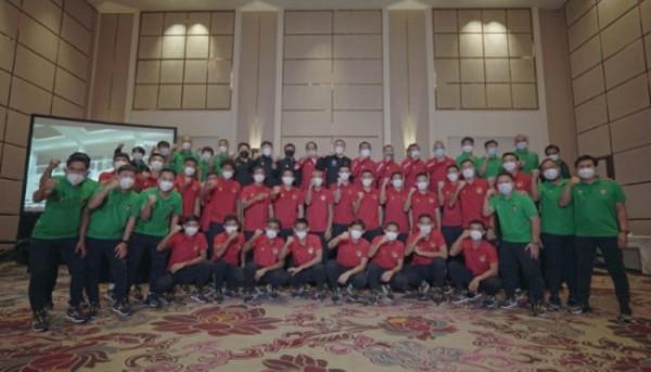Skuad Garuda persiapan Kualifikasi Piala Dunia 2022. (foto istimewa)