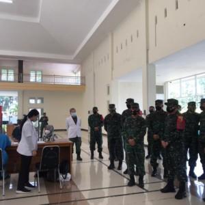 Pangdam V Brawijaya Pastikan Vaksin AstraZaneca Jenis Ini Aman untuk Vaksinasi Purnawirawan TNI