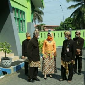 Wabup Lumajang Kunjungi Sejumlah OPD untuk Silaturahmi Idul Fitri
