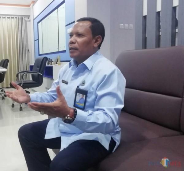 Direktur Utama Perumda Tirta Kanjuruhan, Syamsul Hadi (foto: Dok JatimTIMES)