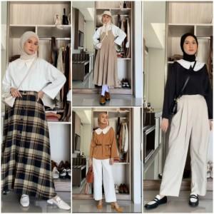 Inspirasi Tampil Effortless dengan Basic Outfit ala Hijabers, Bisa Ditiru Nih!