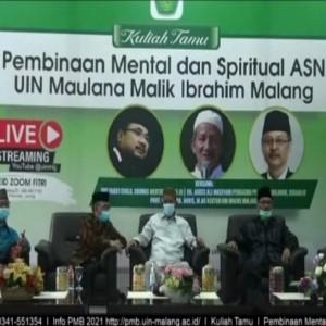 Gelar Halal Bihalal, UIN Malang Perkuat Silaturahmi sekaligus Pembinaan Mental dan Spiritual ASN