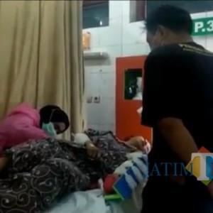 Antar Anak Rayakan Ultah ke Rumah Bapaknya, Istri Disambut Sabetan Celurit
