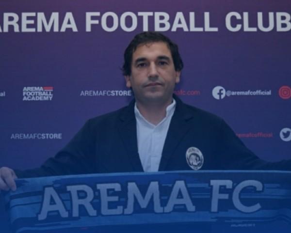 Pelatih Arema FC, Eduardo Almeida (Foto istimewa)
