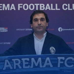 Pelatih Baru Arema FC, Eduardo Almeida Optimis Beri Prestasi