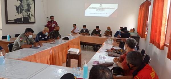 Pertemuan KPU Kota Batu bersama beberapa elemen di Kantor KPU Kota Batu Jl Sultan Agung, Kamis (20/5/2021). (Foto: KPU Kota Batu)