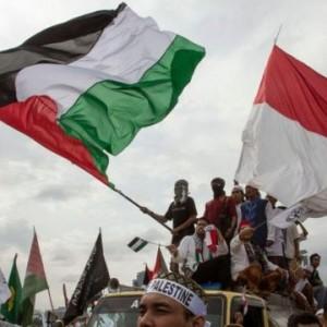 700 Orang Ikut Aksi Bela Palestina di Kantor Kedubes AS, 3 Ribu Personel Gabungan Dikerahkan