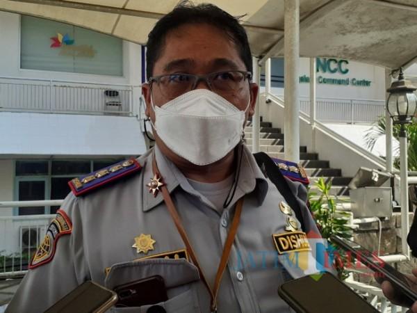 Kepala Dinas Perhubungan (Dishub) Kota Malang, Heru Mulyono. (Arifina Cahyanti Firdausi/MalangTIMES).