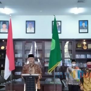 Sertijab Dua Kepala Biro, Rektor UIN Beri Wejangan Ini pada Para Pegawai