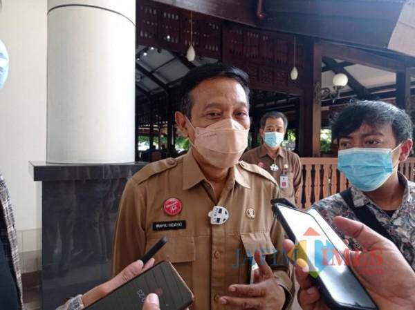 Sekretaris Daerah (Sekda) Kabupaten Malang Wahyu Hidayat (foto: Hendra Saputra/MalangTIMES)