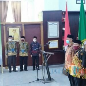 Penyegaran, UIN Malang Gelar Sertijab Kepala Biro AUPK dan Kepala Biro AAKK