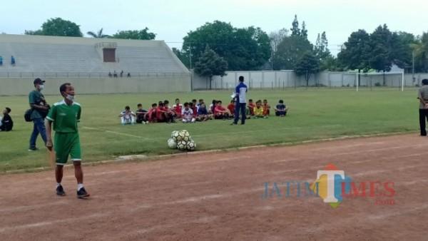 Suasana seleksi Timnas U-16 di Kabupaten Lumajang (Foto: Istimewa)