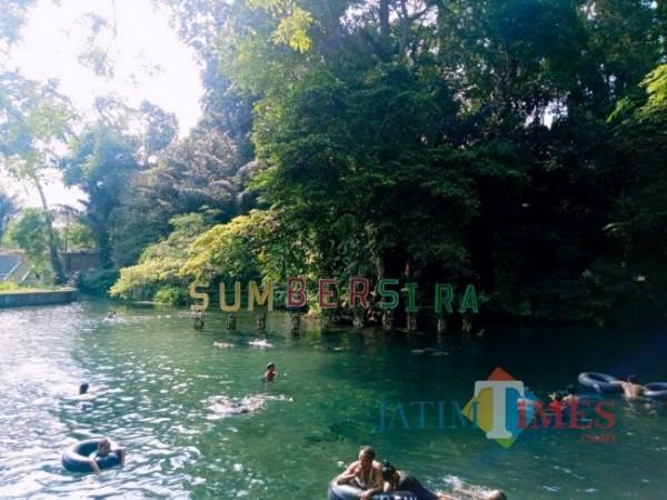 Wisata Sumber Sira yang berada di Putukrejo Kecamatan Gondanglegi. (Foto: Fery/MalangTIMES)