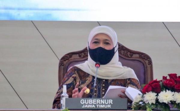 Gubernur Jatim Khofifah Indar Parawansa (Foto: Kompas.com)