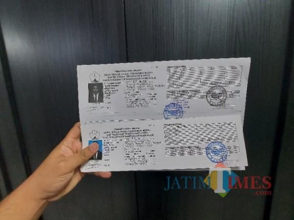 Ilustrasi Kartu Tanda Bukti Pendaftaran Pencari Kerja yang diterbitkan oleh Disnaker-PMPTSP Kota Malang, Sabtu (22/5/2021). (Foto: Tubagus Achmad/MalangTIMES)