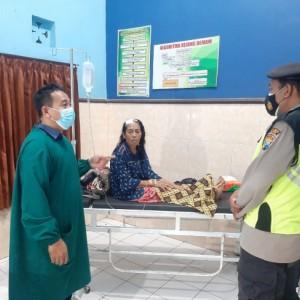 Selamatkan diri Saat Gempa, Wanita Paruh Baya di Blitar Alami Luka-luka