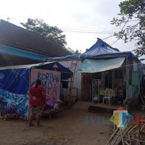 Nestapa Korban Gempa Malang, Sebulan Lebih Tinggal di Rumah Beratapkan Terpal