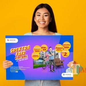 Edisi Spesial Pasca Lebaran, SPEKTRA FAIR Virtual Tebar Promo di 26 Kota Besar Indonesia