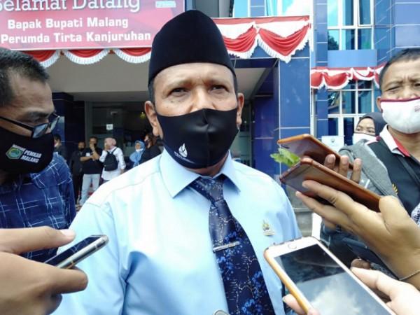 Direktur Utama Perumda Tirta Kanjuruhan Syamsul Hadi (Foto: istimewa)