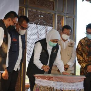 Gubernur Jatim Resmikan Zona KIP di Desa Wisata Nangkula Park Tulungagung