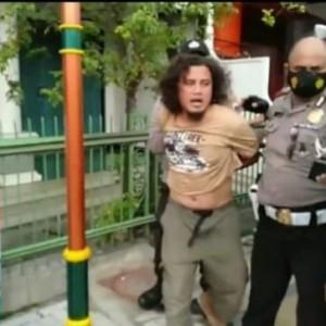 Pria Viral Penyerang Petugas di Solo Residivis dan Sempat Ancam Bunuh Polisi