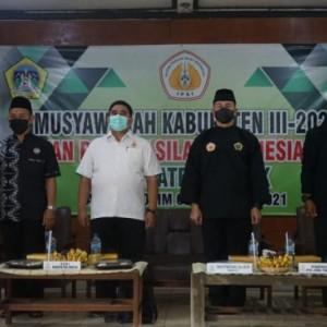 Hadiri Musyawarah Ikatan Pencak Silat Indonesia, Ini Pesan Dandim 0817 Gresik