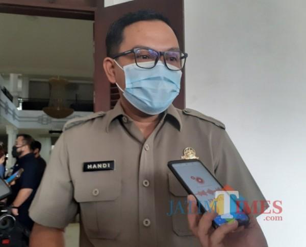 Kepala Badan Pendapatan Daerah (Bapenda) Kota Malang Handi Priyanto. (Arifina Cahyanti Firdausi/MalangTIMES).