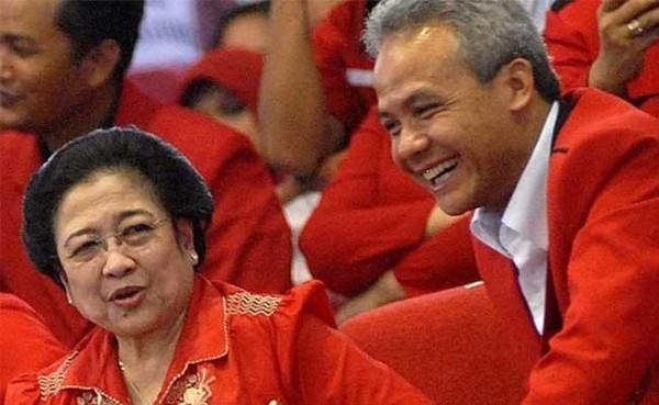 Megawati dan Ganjar Pranowo (Foto: Tempo.co)