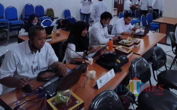 Panitia UM PTKIN UIN Malang (Anggara Sudiongko/MalangTIMES)