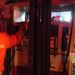 Korsleting Listrik Sebabkan Mesin Pom Mini Terbakar