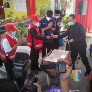 Tingkatkan Kewaspadaan, Wabup Sugirah Resmikan Pemodelan Rumah Aman Gempa