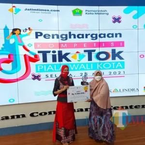 Kompetisi TikTok Piala Wali Kota Malang 2021 Sukses Digelar, Ketua TP PKK Ingin Sinergitas dengan UMKM