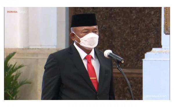 Letjen Ganip Warsito (Foto: YouTube Sekretariat Presiden)