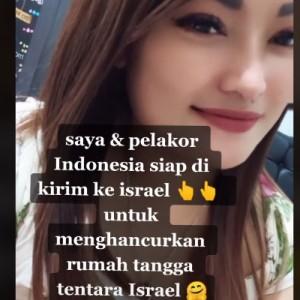 Viral di TikTok, Persatuan Pelakor Indonesia Siap Hancurkan Rumah Tangga Israel