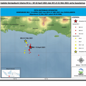 Gempa Bermagnitudo 8 Ancam Selatan Pulau Jawa, BMKG Karangkates Ingatkan Hal Ini