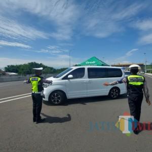 7.775 Kendaraan Diperiksa, 1.589 Diputar Balik di Kota Malang