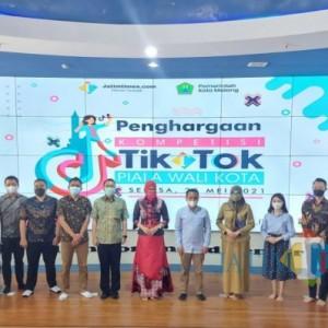 Sukses, Apartemen The Kalindra dan Indomaret Apresiasi Gelaran Kompetisi TikTok Piala Wali Kota Malang 2021